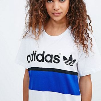 eaabee363 Adidas City Tee Dress in White - Urban from Urban Outfitters