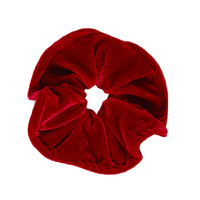 Velvet Goldmine Scrunchie - Cranberry