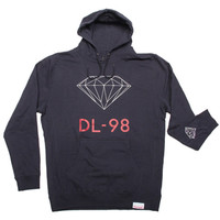 Diamond Supply Co. DL-98 Men's Hoodie in Navy (DMND-DL98-PUL-NVY-NVY)