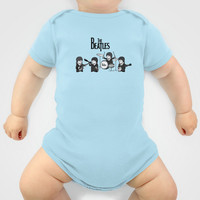 Beatles Baby Clothes by elsitiodetico