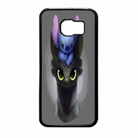 Stitch And Tootless How To Train Your Dragon Samsung Galaxy S6 Case