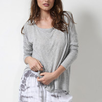 Gab & Kate Compass Cove Sweater - Grey