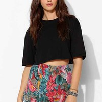 Urban Renewal Gauze Ruffle Short-