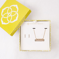 Kendra Scott Jon & Leanor Rose Gold Drusy Gift Set