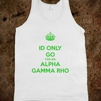 ALPHA GAMMA RHO - Fraternity Girlfriend