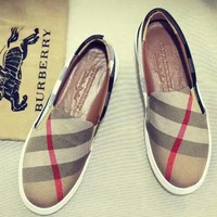 Burberry  Women Fashion Simple Casual  Shoes