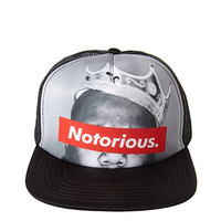 Notorious Graphic Trucker Hat