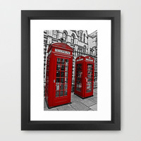London phone home Framed Art Print by  Alexia Miles photography