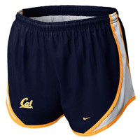 Nike Cal Bears Ladies Tempo Performance Shorts - Navy Blue