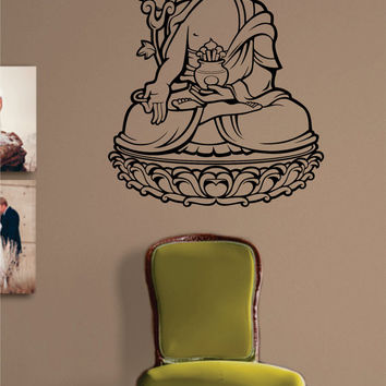 Buddha Version 4 Buddhist Design Decal Sticker Wall Vinyl Decor Art