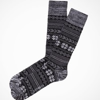 FAIR ISLE DRESS SOCKS