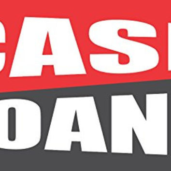 Cash Loans 2ftx4ft Vinyl Retail Banner Sign