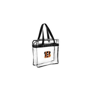 Cincinnati Bengals Clear Plastic Zipper Tote Bag NFL 2017 Stadium Approved