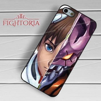 Shinji and Eva-01-1nn iPhone 4/4S/5/5S/5C/6/ 6+,samsung S3/S4/S5,S6 Regular,samsung note 3/4