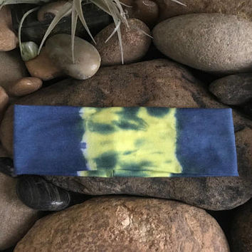 Yoga headband - Tie dye - Fitness - hand dyed - Running - Softball Headband- Sports - Stocking Suffers