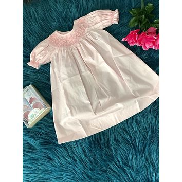 2019 Spring & Summer Love Me Infant Pink Pearl Infant Dress