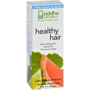 Siddha Flower Essences Healthy Hair - 1 Fl Oz