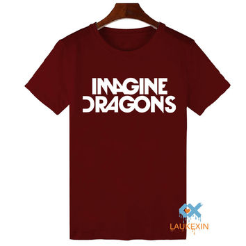 Imagine Dragons T Shirt Indie Rock Band Dan Reynolds Bastille New Album Concert Tops Tee Shirts Harajuku T-shirt For Men Women