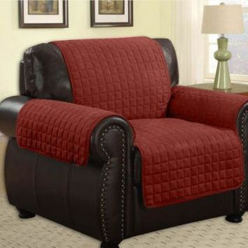 Quilted Microfiber Pet Dog Couch Sofa Furniture Protector -Chair