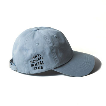 anti social social club Baseball Cap Hip Hop Casquette Snapback Hat Bone Women Men