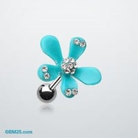 Spring Flower Bloom Cartilage Earring