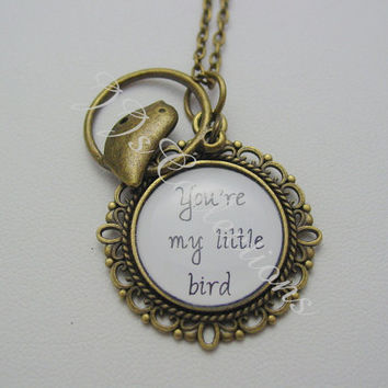 You're My Little Bird Necklace