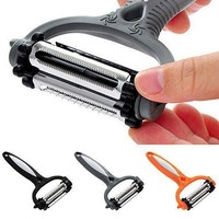 Multi-functional 360 Degree Rotary Kitchen Tool Vegetable Fruit Peeler