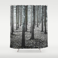 Coma forest Shower Curtain by happymelvin