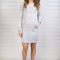 Winter Knit Long Sleeve Dress