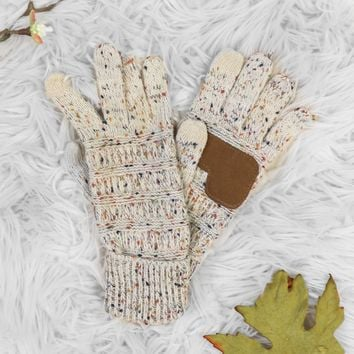 Fairbanks Smart Tips Gloves - Oatmeal