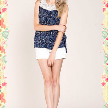 Blooms and Bows Top