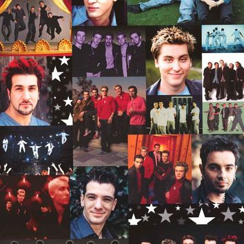 N'Sync Band Montage Poster 22x34