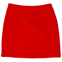 Teela Pencil Skirt in Red