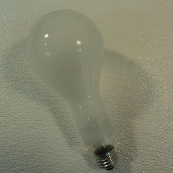 Sylvania 300 Watt Incandescent Light Bulb Lamp Frost PS25 Series PS3069 -- New