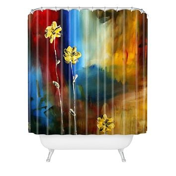 Madart Inc. Soft Touch Shower Curtain