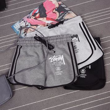 Stussy Fashion High Waist Shorts