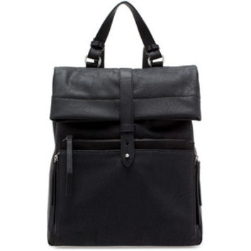 Zara Trafaluc Faux Leather Backpack