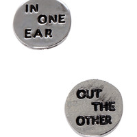 LOVEsick In One Ear Out The Other Earrings