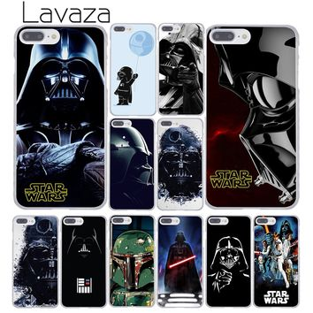 Lavaza Darth vader Star wars Child in the brain Hard Phone Case for Apple iPhone 8 7 6 6S Plus X 10 5 5S SE 5C 4 4S