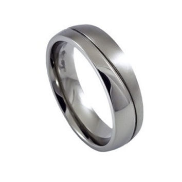 Mens Simple But Stylish Tungsten Wedding Or Anniversary Band