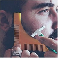 Beard Comb and Shaving Guide