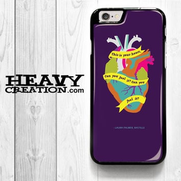 Bastille Lyric Flaws for iPhone 4 4S 5 5S 5C 6 6 Plus , iPod Touch 4 5  , Samsung Galaxy S3 S4 S5 S6 S6 Edge Note 3 Note 4 , and HTC One X M7 M8 Case