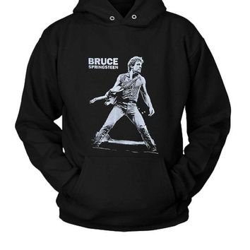 DCCK7H3 Bruce Springsteen Hoodie Two Sided
