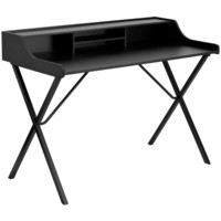 FlashFurniture Writing Desk with Top Shelf