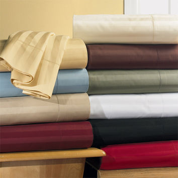 CalKing Waterbed 300 Thread count 100% Egyptian cotton Sheet sets (unattached)