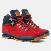 10deep X Timberland Nomad Shoes - Red at Urban Industry