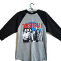 38 Special Concert Tee Shirt Strength In Numbers 1986 Tour Size L