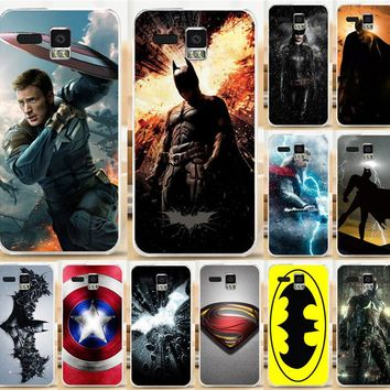 Painted Case Hood For Lenovo A8 A806 A808T Cool Superman Captain America Thor Black Widow Mobile Phone Case Cover Shell Capa