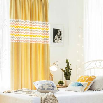 Drapes with Yellow Fairy