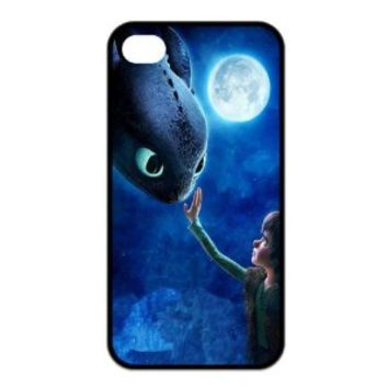 FashionFollower Design Movie Series How to Train Your Dragon Hot Phone Case Suitable For iphone4/4s IP4WN32212